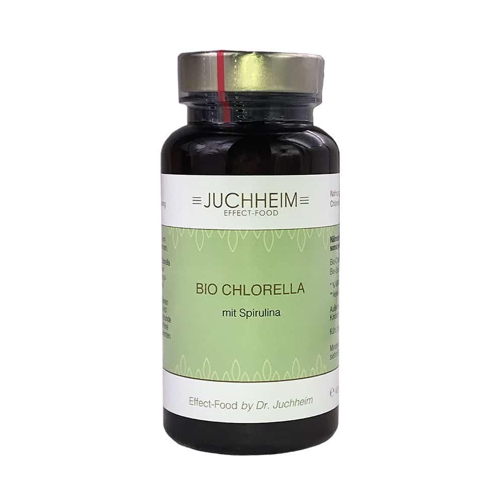 Dr. Juchheim Bio Chlorella mit Spirulina Kapseln