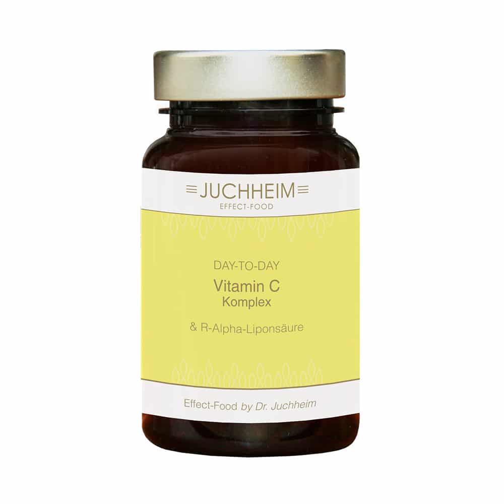 Dr. Juchheim Vitamin C Komplex + R-Alpha-Liponsäure Kapseln