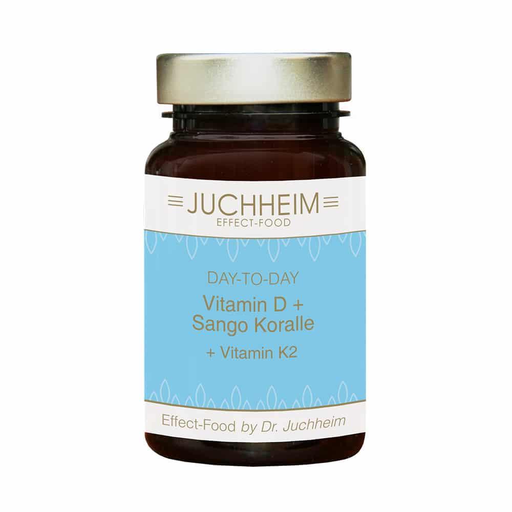 Dr. Juchheim Vitamin D + Sango Koralle + Vitamin K2 Kapseln