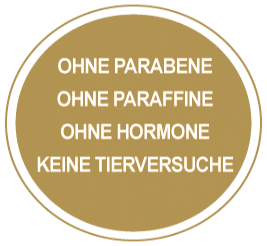 Ohne Parabene, Paraffine, Hormone, Tierversuche