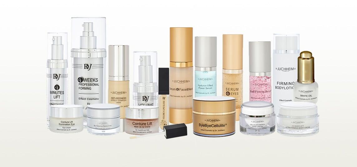 Dr. Juchheim Effekt-Kosmetik Übersicht
