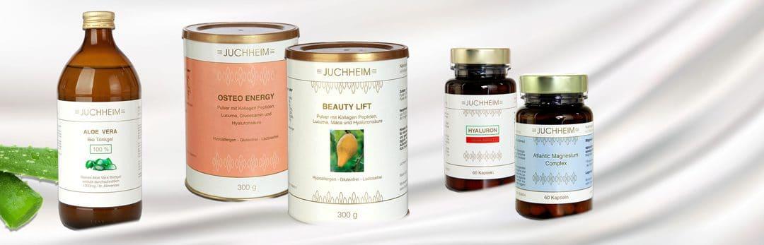 Neue Produkte: Aloe Vera, Kollagen, Hyaluron und Magnesium